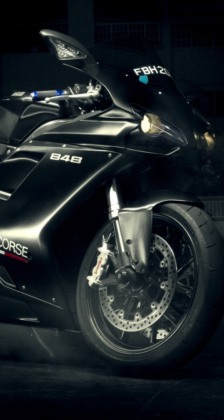 Ducati 848 Wallpaper for Apple iPhone 5 / 5s