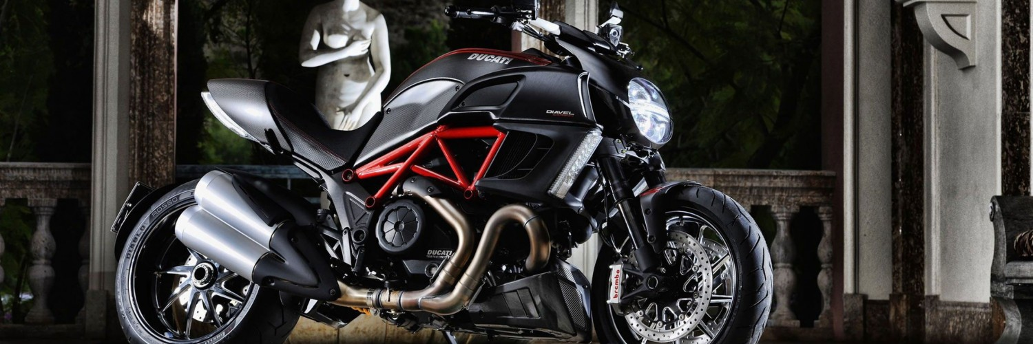Ducati Diavel Wallpaper for Social Media Twitter Header