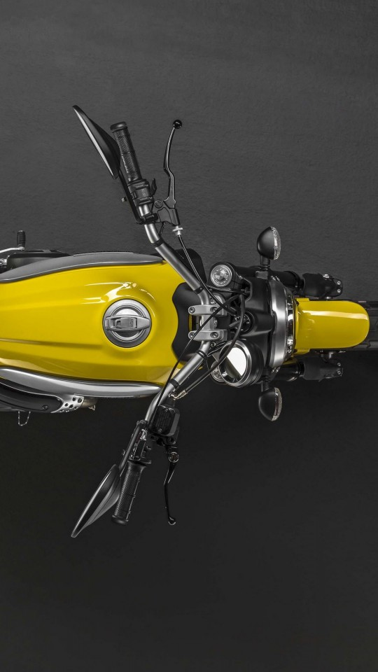 Ducati Scrambler Top View Wallpaper for Motorola Moto E