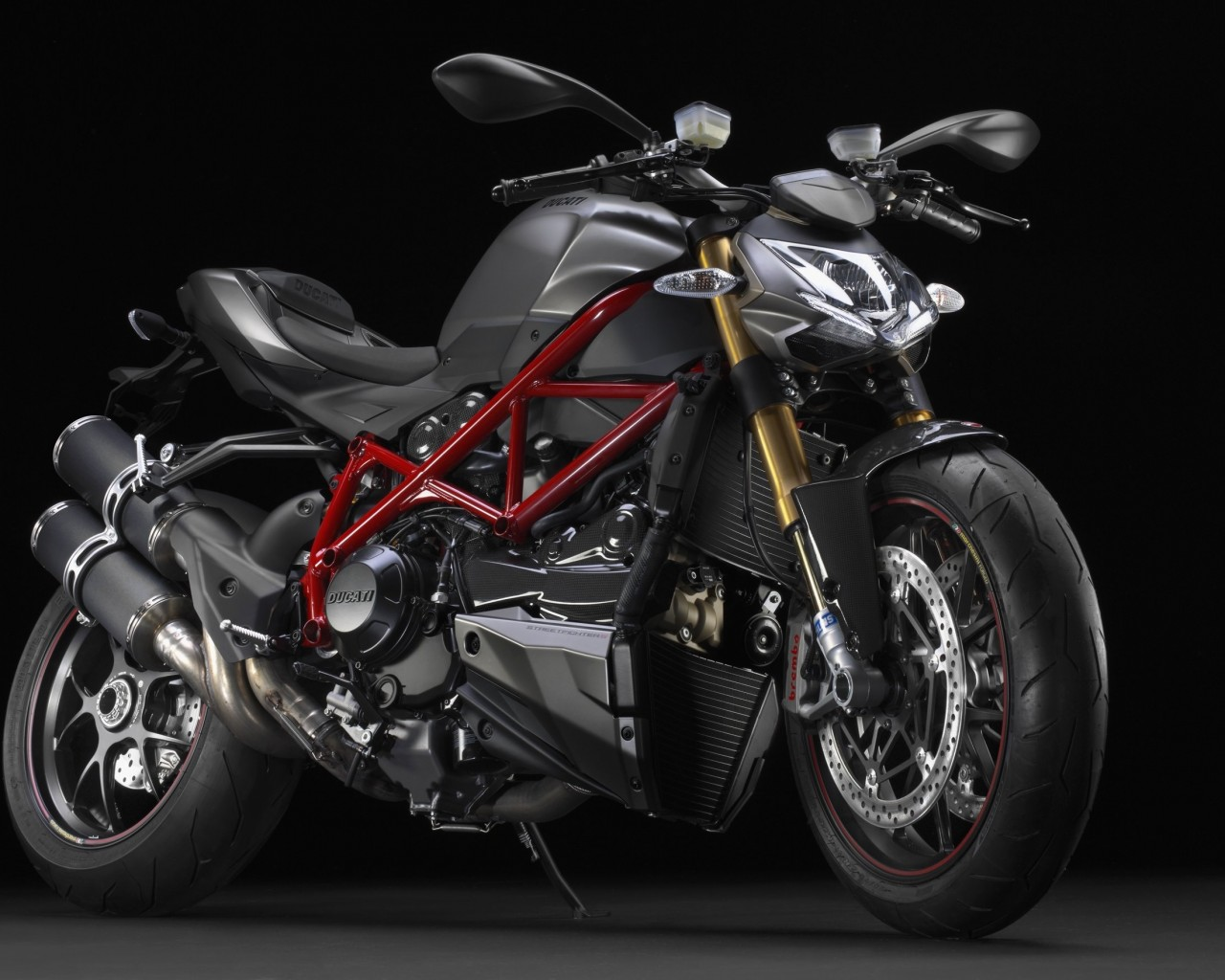 Ducati Streetfighter S Wallpaper for Desktop 1280x1024