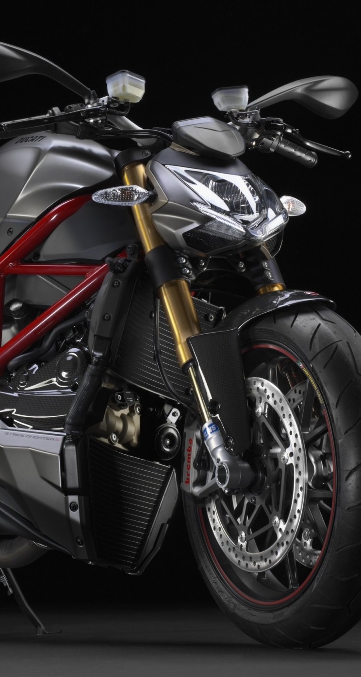 Ducati Streetfighter S Wallpaper for Apple iPhone 5 / 5s