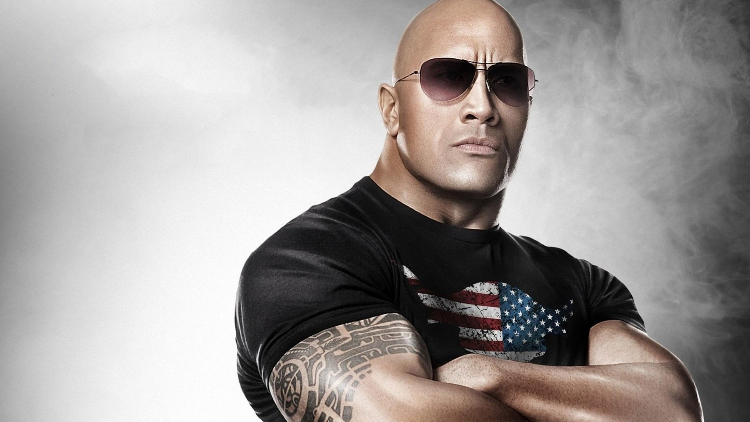 Dwayne Johnson The Rock Wallpaper for Desktop 2560x1440