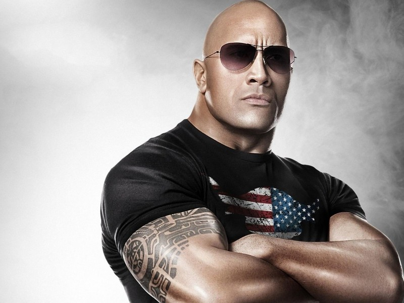Dwayne Johnson The Rock Wallpaper for Desktop 800x600