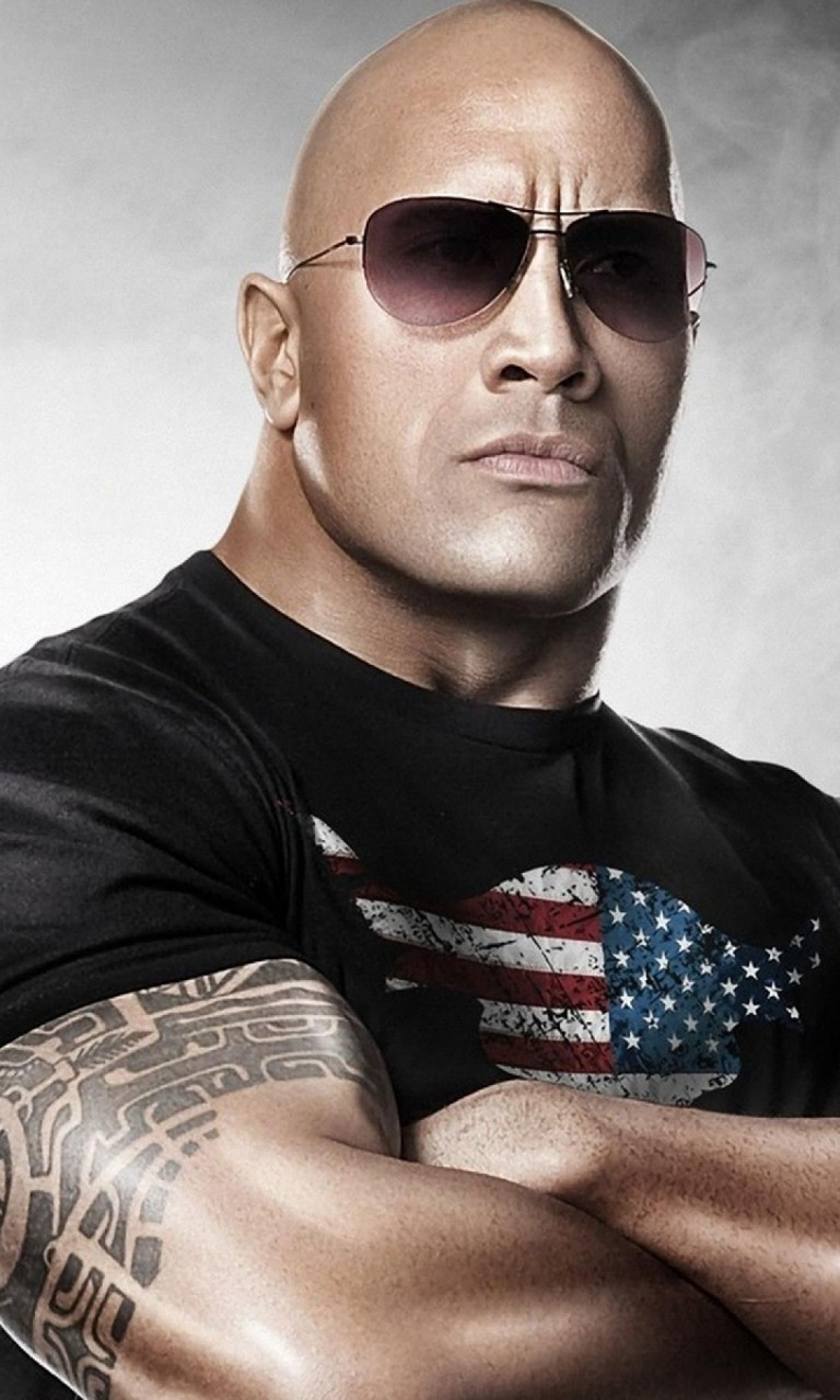 Dwayne Johnson The Rock Wallpaper for Google Nexus 4
