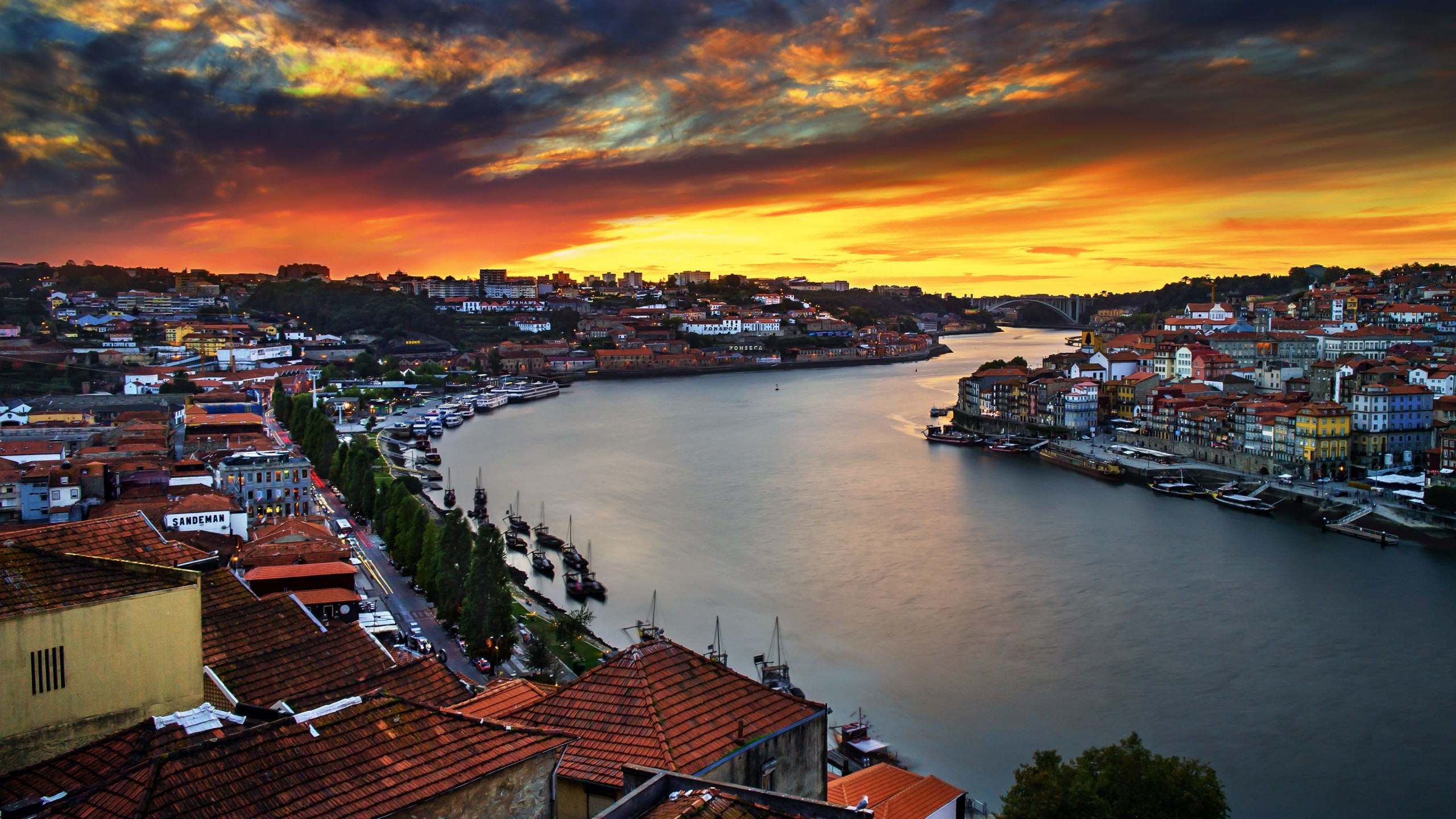 Enchanting Porto Wallpaper for Social Media YouTube Channel Art
