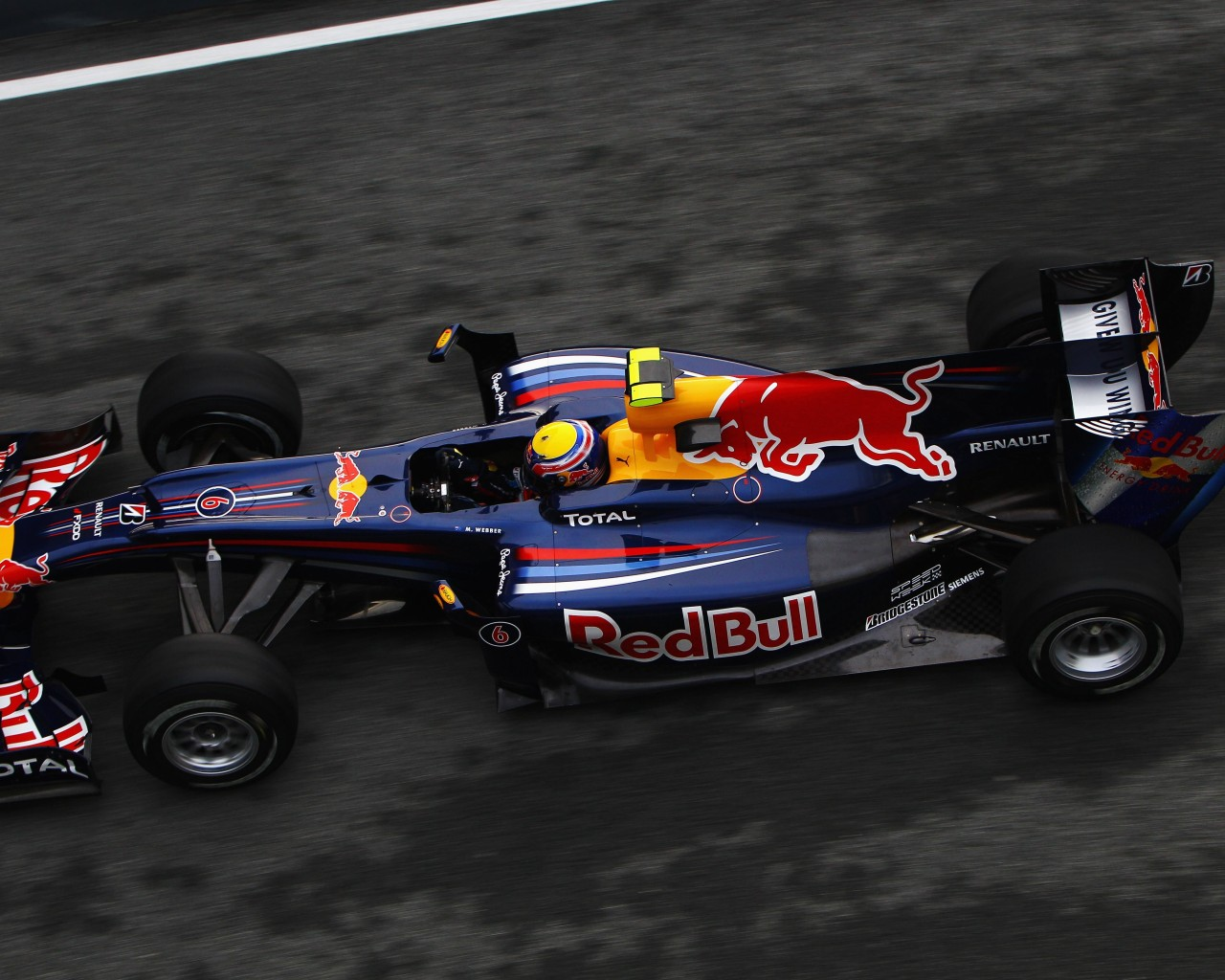 F1 Red Bull Team Wallpaper for Desktop 1280x1024