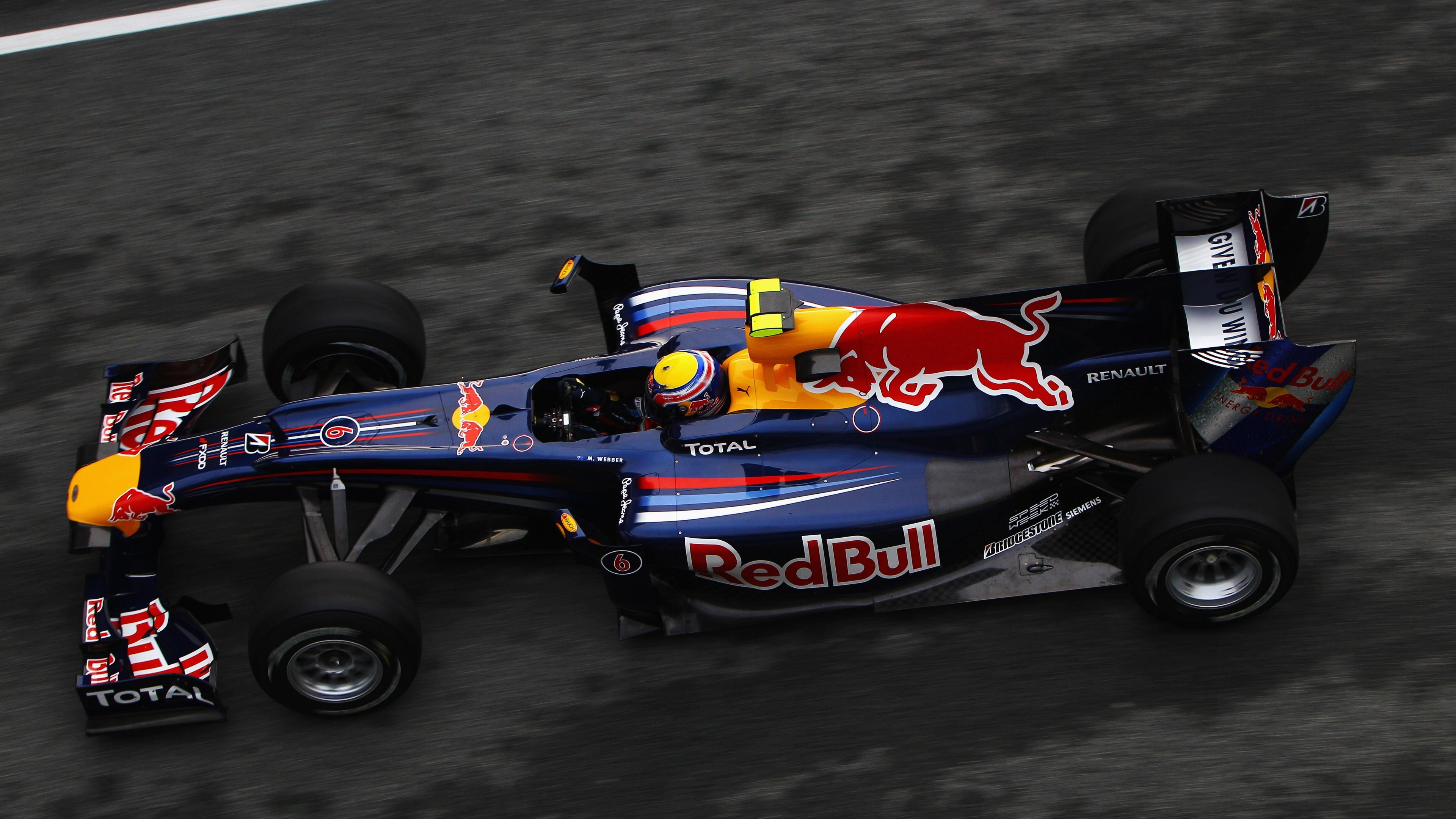F1 Red Bull Team Wallpaper for Desktop 4K 3840x2160