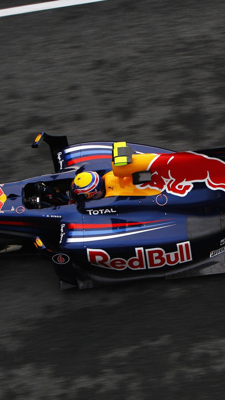 F1 Red Bull Team Wallpaper for HTC One X