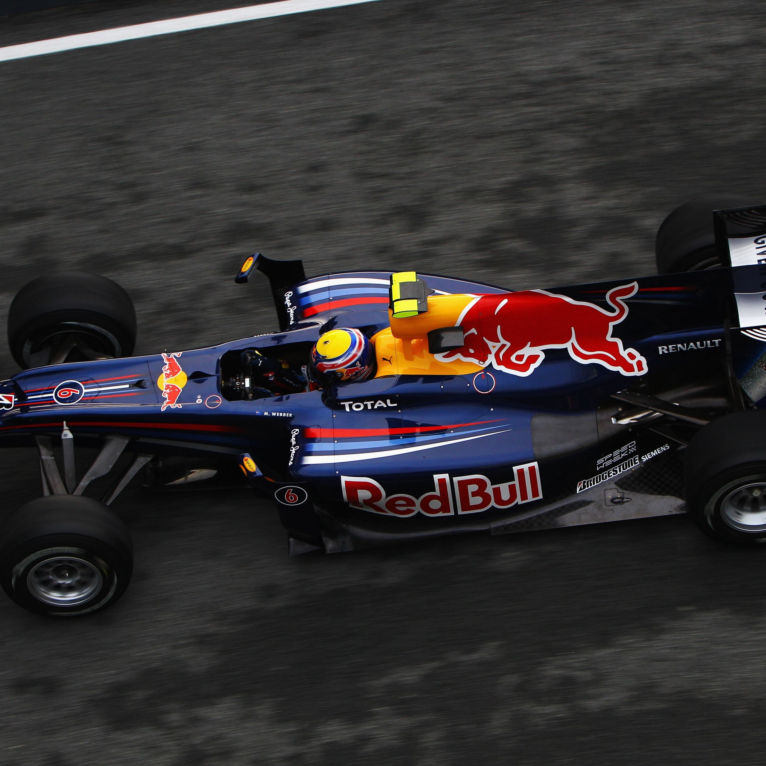 F1 Red Bull Team Wallpaper for Apple iPad Air