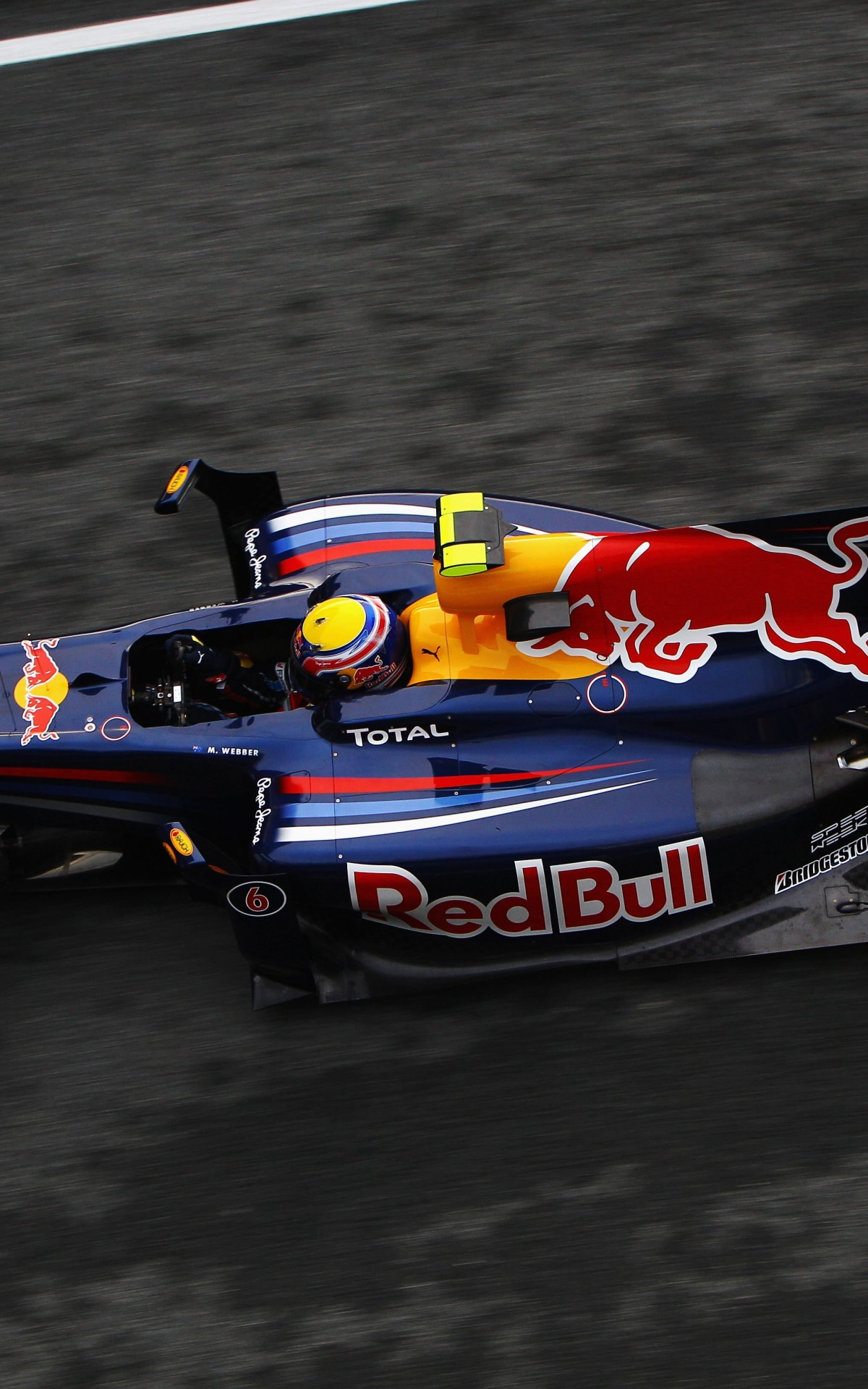 F1 Red Bull Team Wallpaper for Amazon Kindle Fire HDX