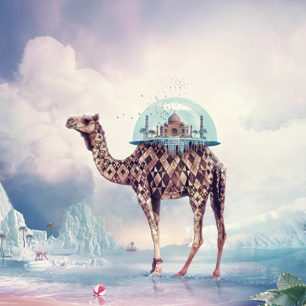 Fantasy Camel Wallpaper for Apple iPad 2