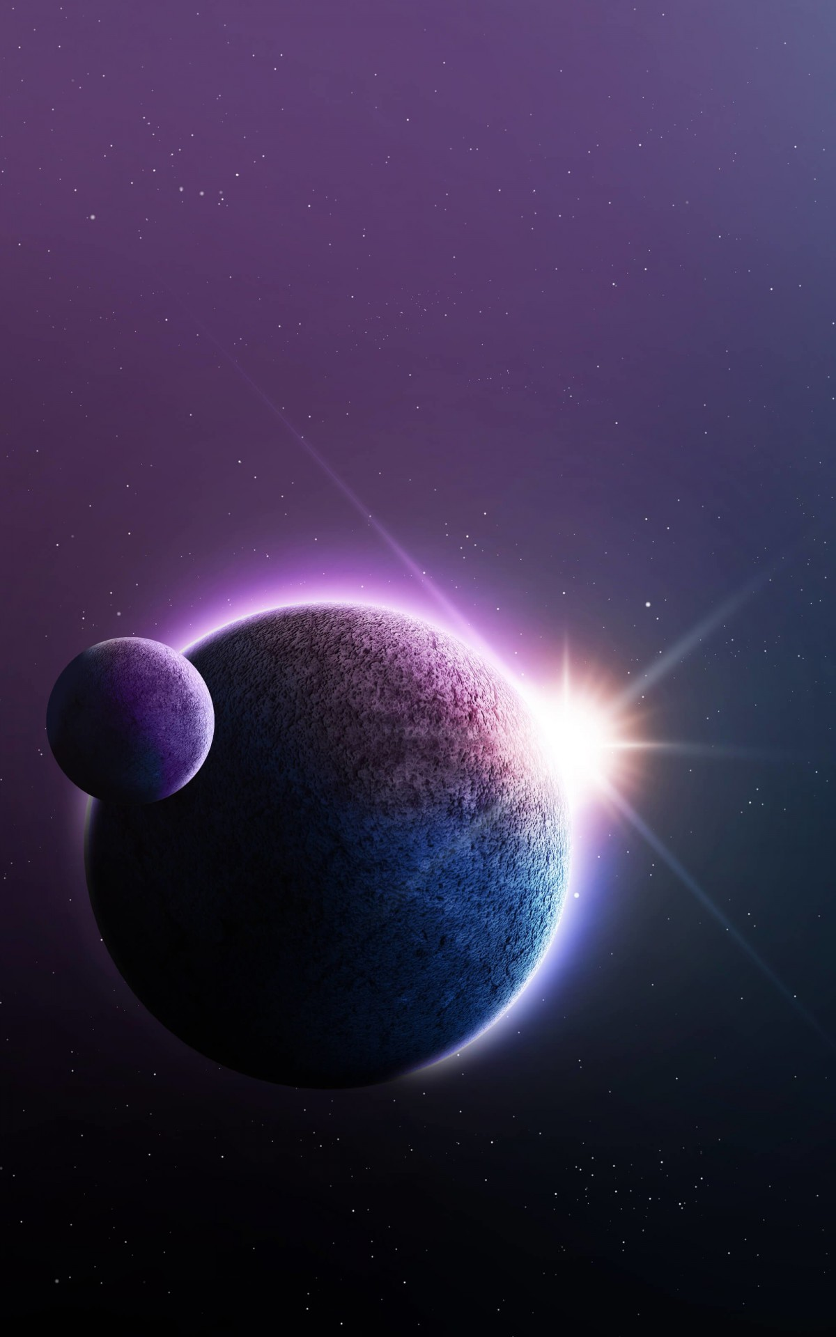 Far-Off Planets Wallpaper for Amazon Kindle Fire HDX