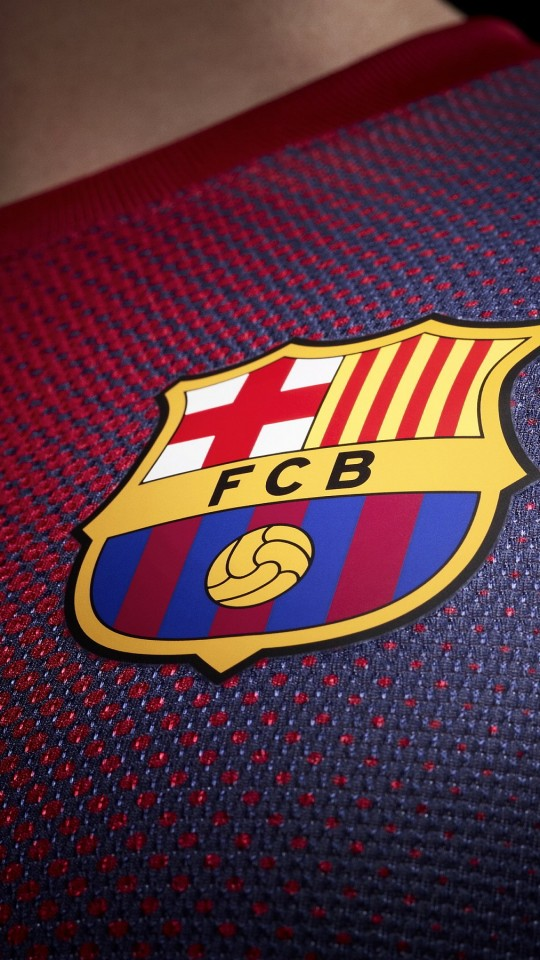 FC Barcelona Logo Shirt Wallpaper for Motorola Moto E