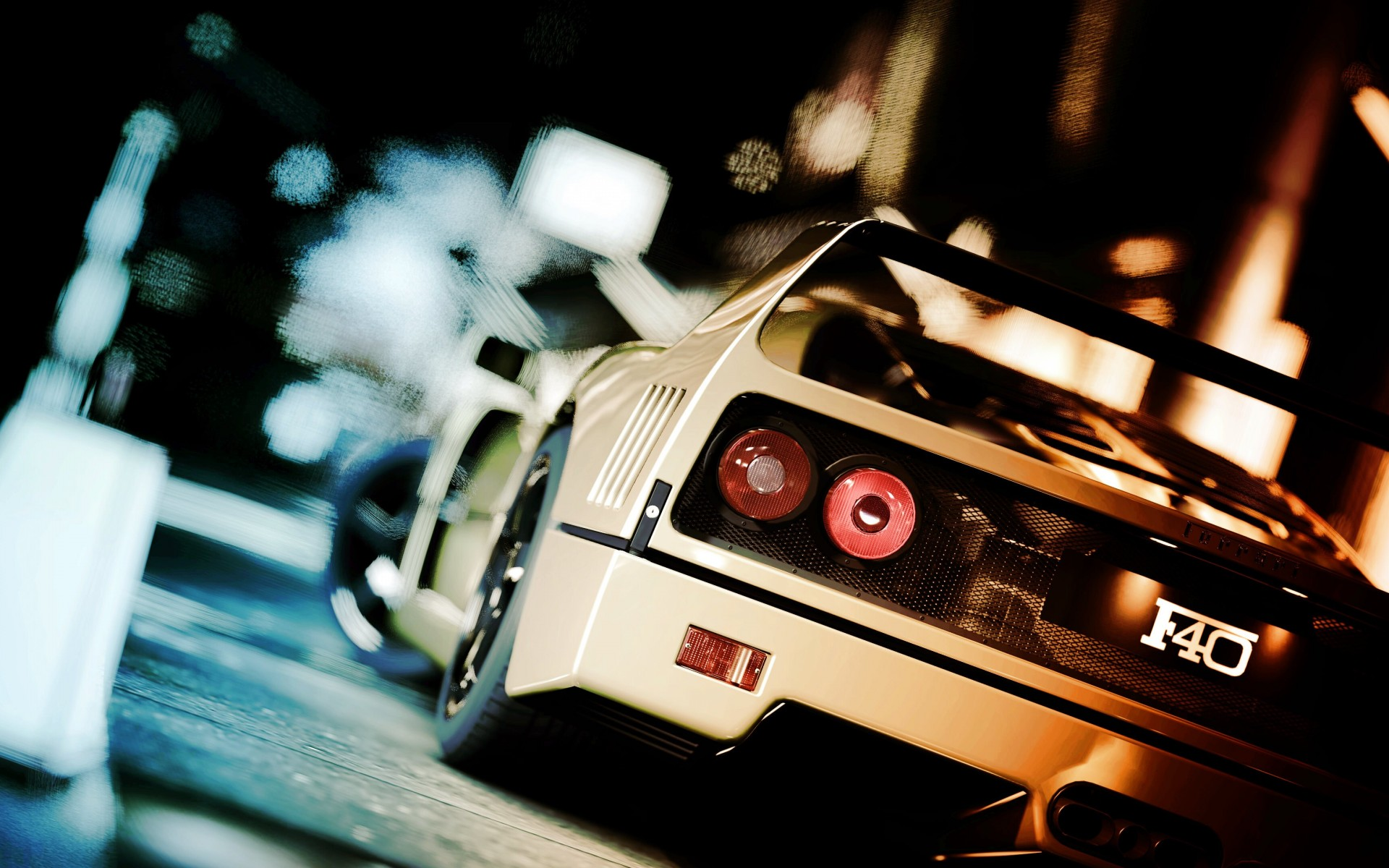 Ferrari F40 Gran Turismo Wallpaper for Desktop 1920x1200