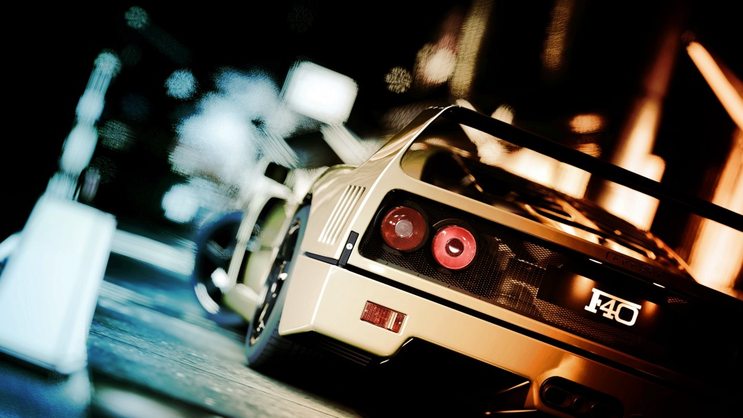 Ferrari F40 Gran Turismo Wallpaper for Social Media Google Plus Cover