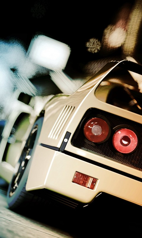 Ferrari F40 Gran Turismo Wallpaper for HTC Desire HD