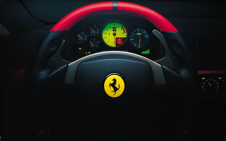 Download Ferrari Steering Wheel Hd Wallpaper For 2880 X