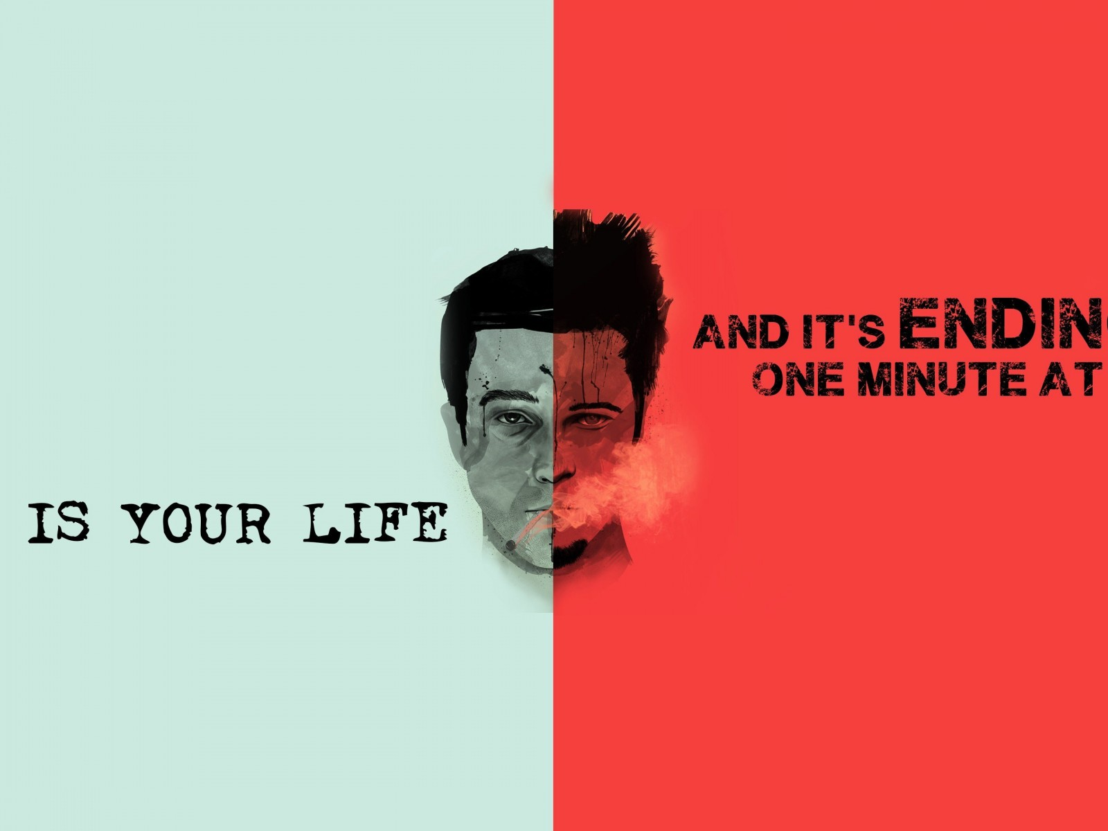 Fight Club Quote Wallpaper for Desktop 1600x1200