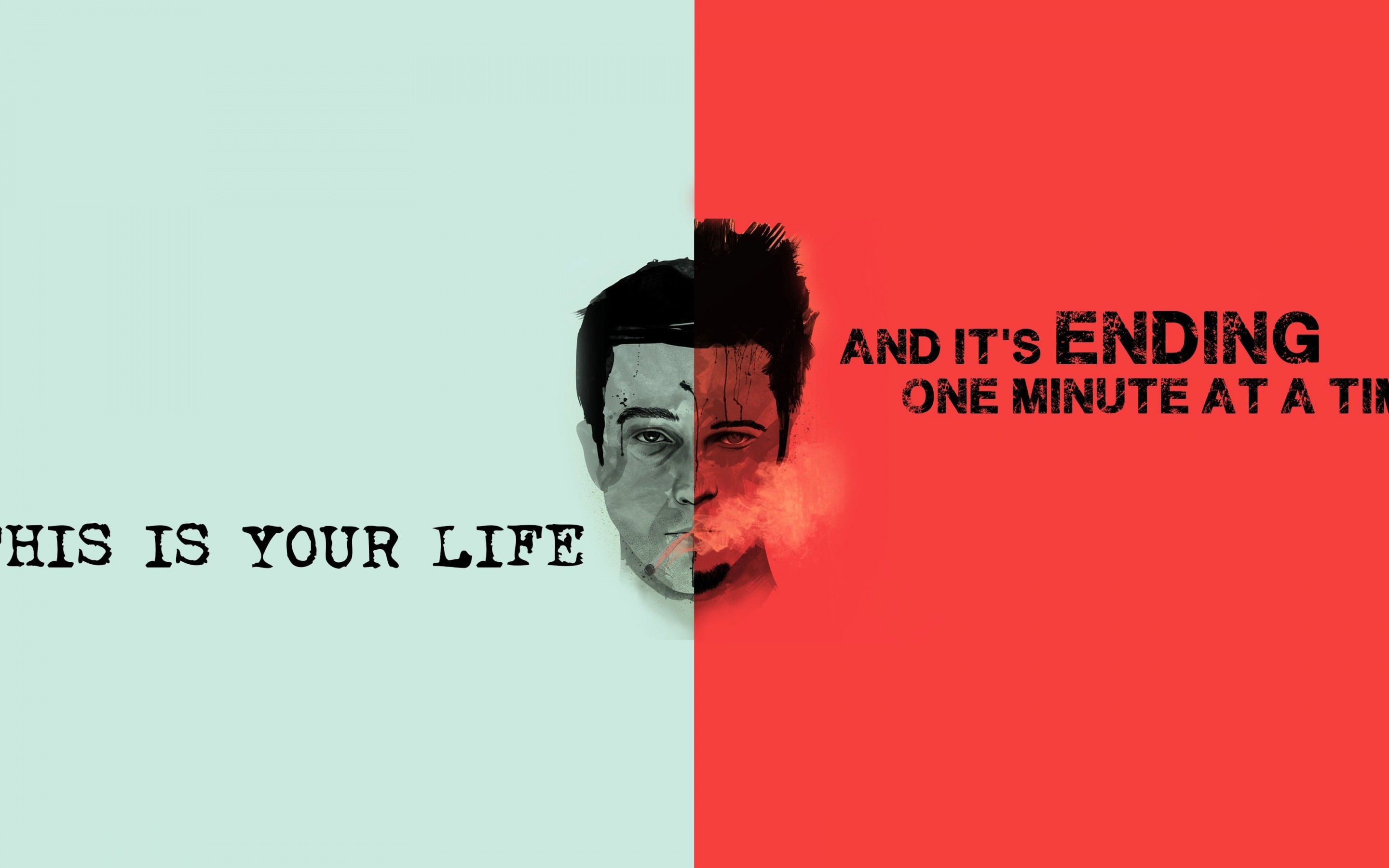 Fight Club Quote Wallpaper for Desktop 2880x1800