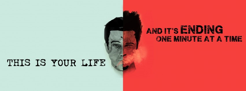 Fight Club Quote Wallpaper for Social Media Facebook Cover