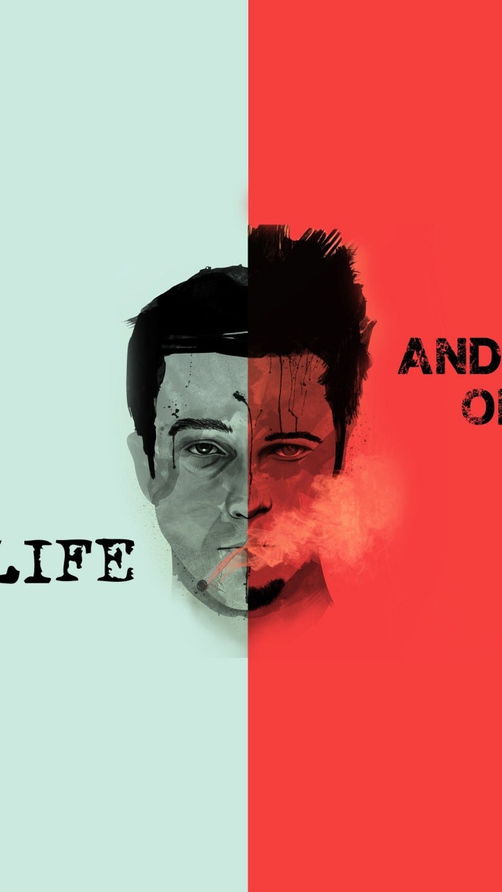 Fight Club Quote Wallpaper for SAMSUNG Galaxy S5 Mini