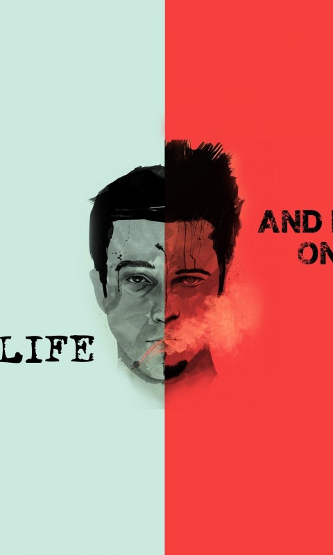 Fight Club Quote Wallpaper for HTC Desire HD