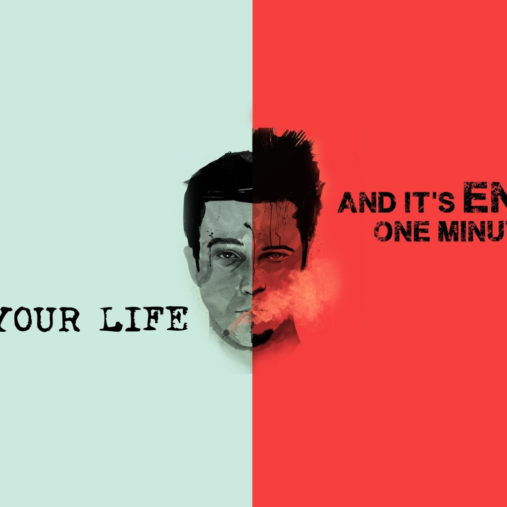 Fight Club Quote Wallpaper for Apple iPad