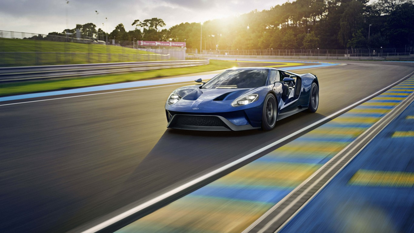 Ford GT Supercar Wallpaper for Desktop 1366x768