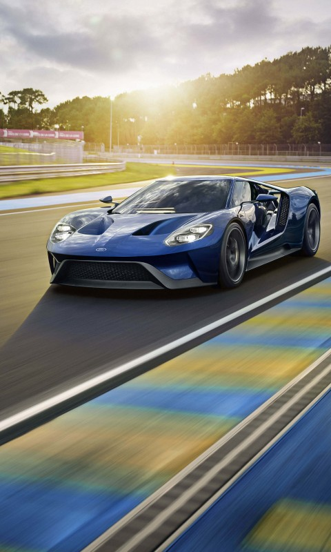 Ford GT Supercar Wallpaper for SAMSUNG Galaxy S3 Mini