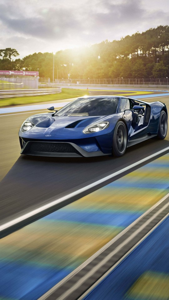 Ford GT Supercar Wallpaper for SAMSUNG Galaxy S4 Mini