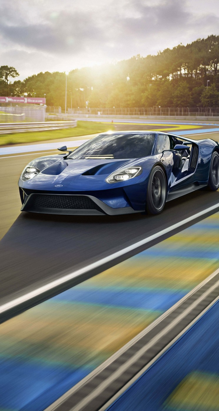 Ford GT Supercar Wallpaper for Apple iPhone 5 / 5s