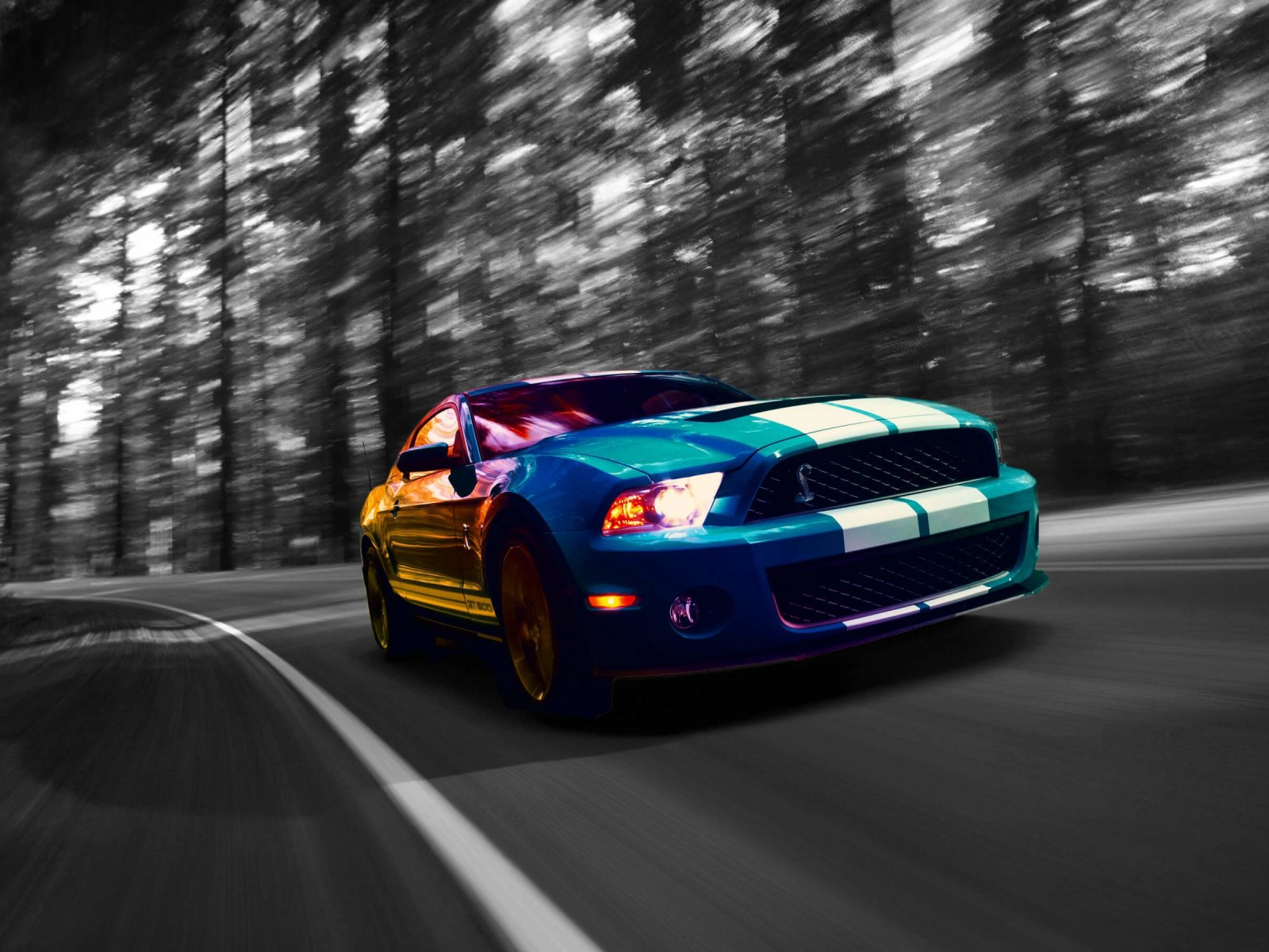 Ford Mustang Shelby GT500 Wallpaper for Desktop 1600x1200