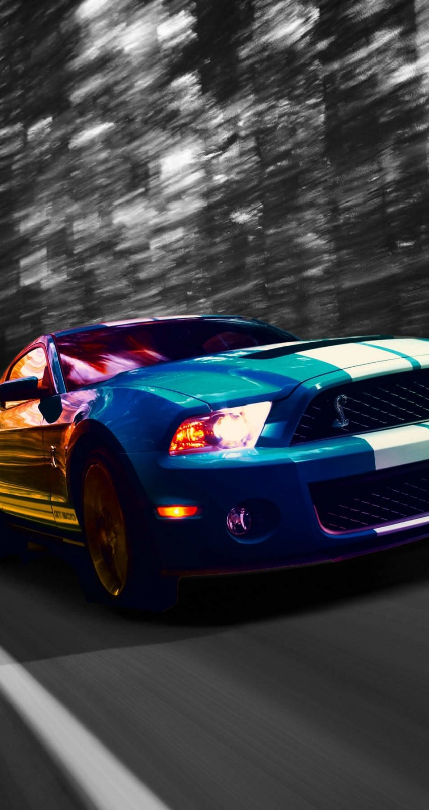 Ford Mustang Shelby GT500 Wallpaper for Apple iPhone 6 / 6s