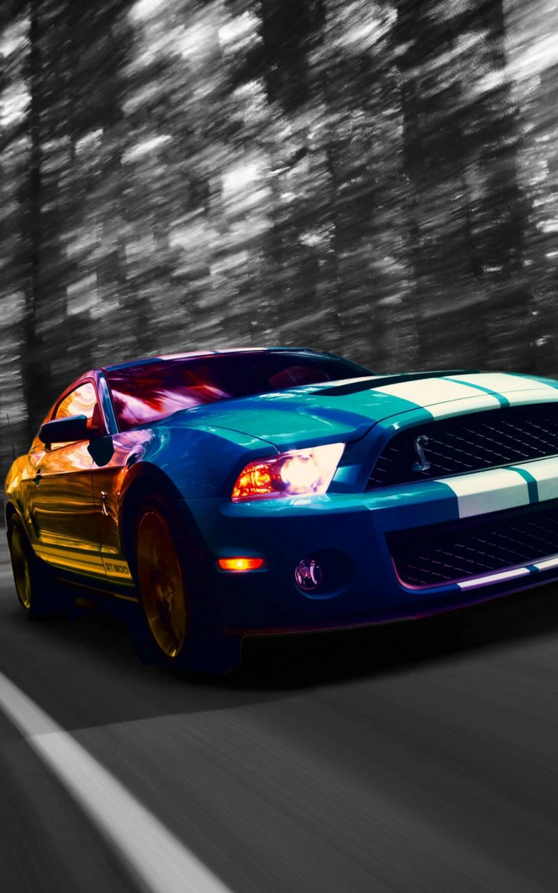 Ford Mustang Shelby GT500 Wallpaper for Amazon Kindle Fire HD