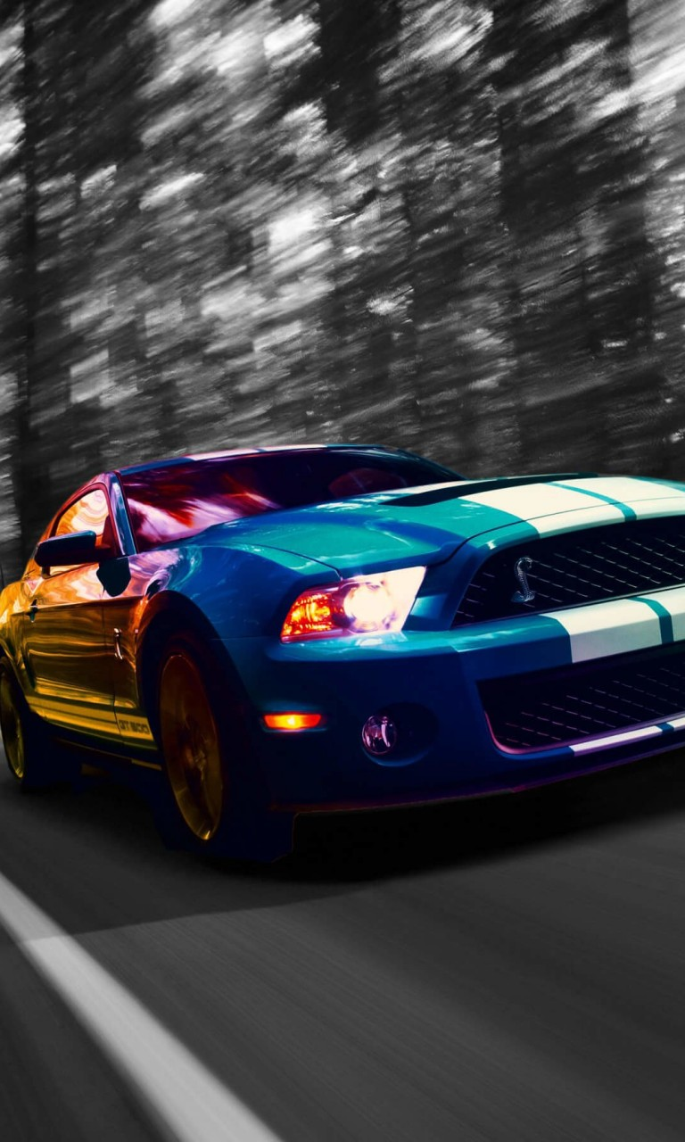Ford Mustang Shelby GT500 Wallpaper for Google Nexus 4
