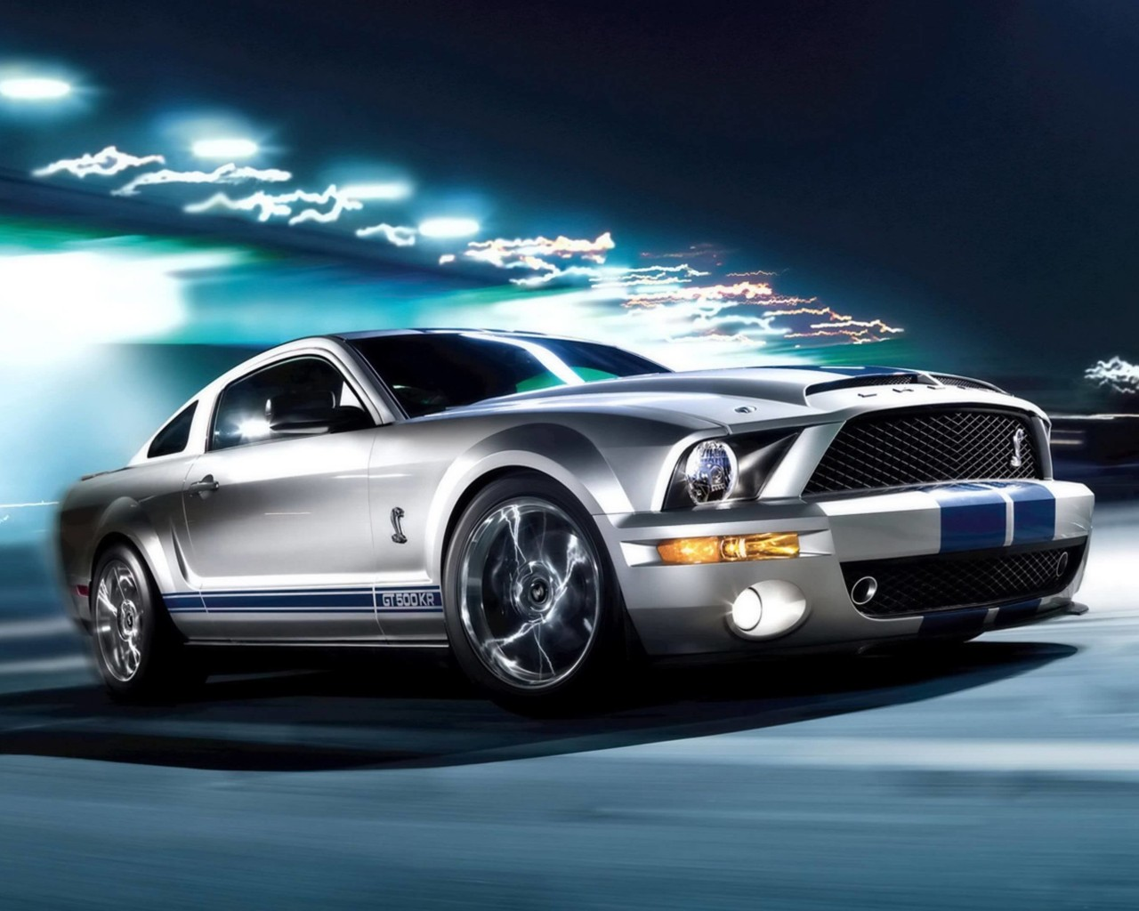 Ford Mustang Shelby GT500KR Wallpaper for Desktop 1280x1024