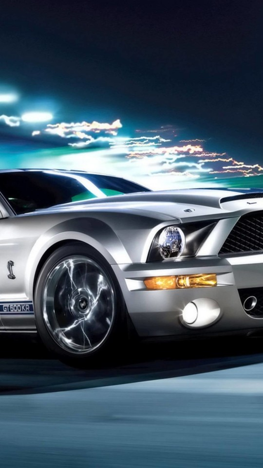 Ford Mustang Shelby GT500KR Wallpaper for SAMSUNG Galaxy S4 Mini