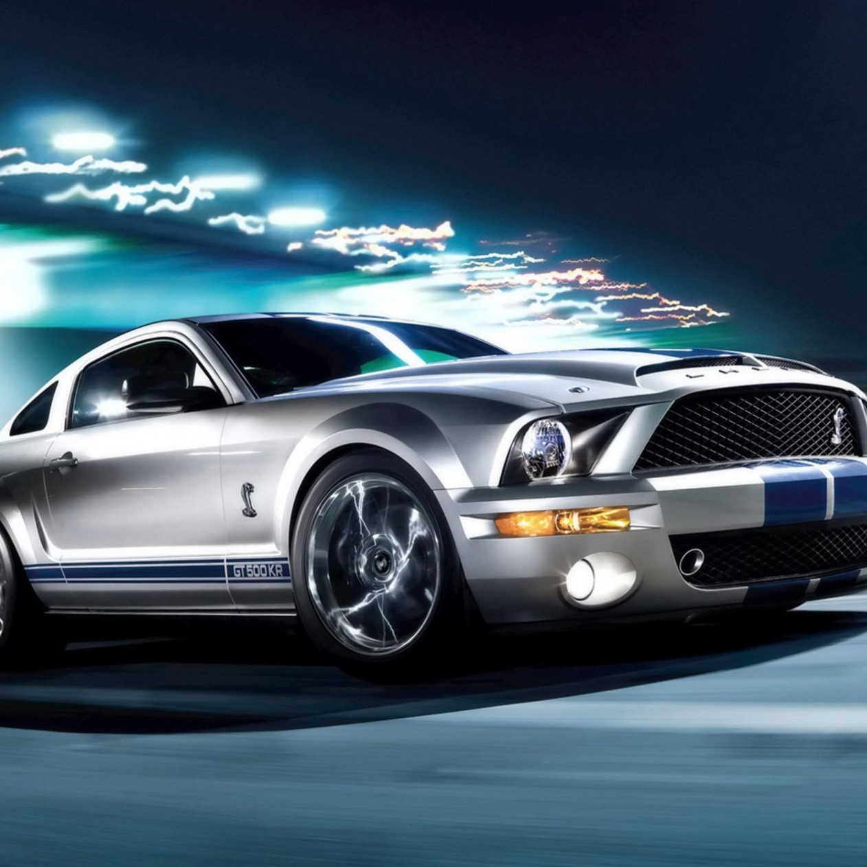 Ford Mustang Shelby GT500KR Wallpaper for Apple iPad mini