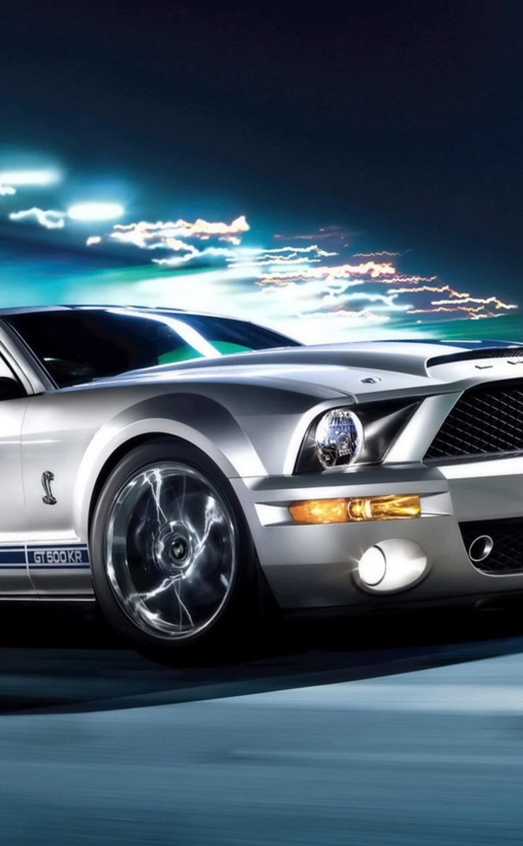 Ford Mustang Shelby GT500KR HD wallpaper for iPhone 4 / 4s screens ...