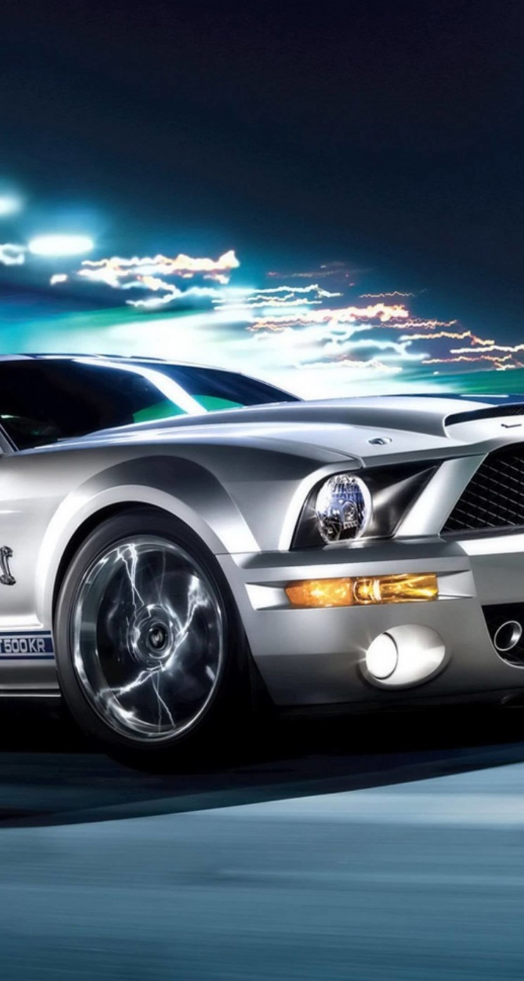 Hd wallpaper apple - Download Ford Mustang Shelby Gt500kr Hd Wallpaper For