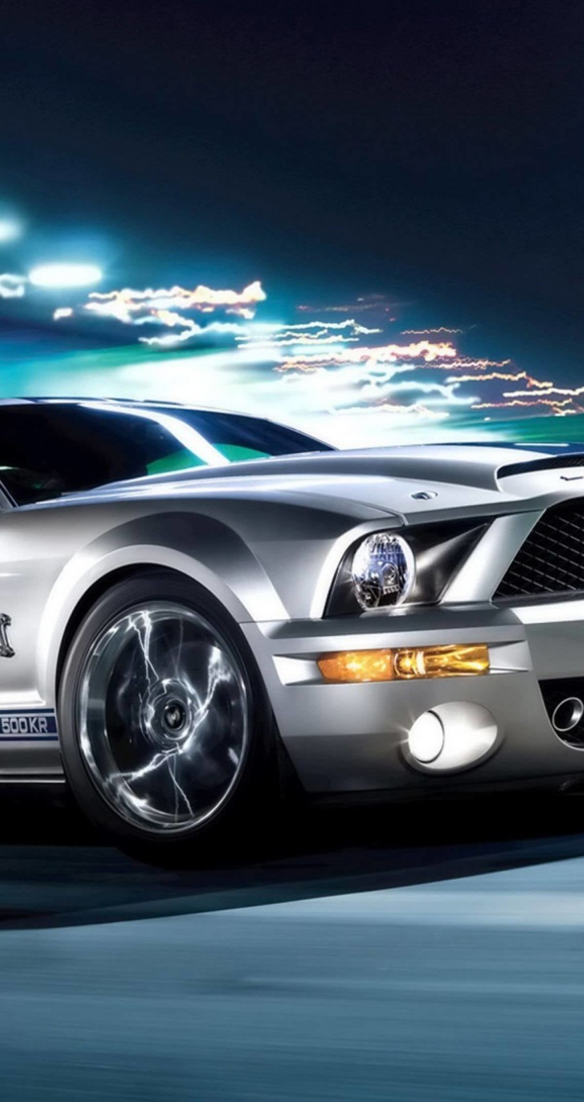 Ford Mustang Shelby GT500KR Wallpaper for Apple iPhone 6 / 6s