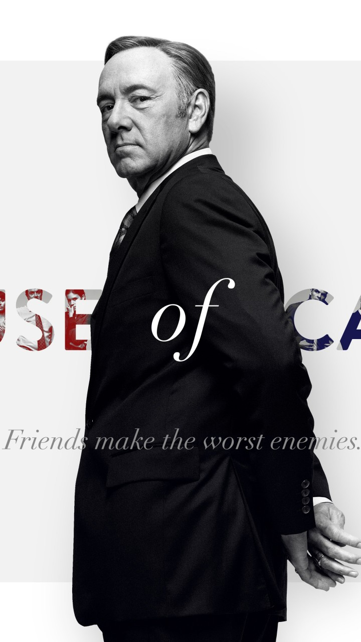 Frank Underwood - House of Cards Wallpaper for Motorola Droid Razr HD