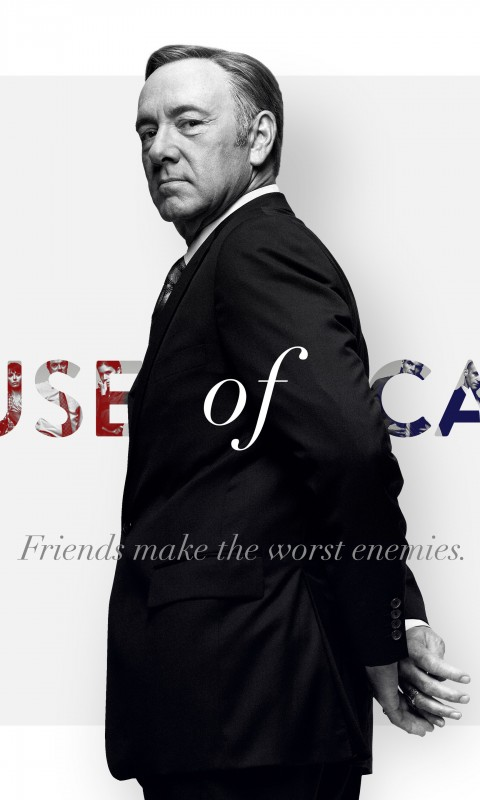 Frank Underwood - House of Cards Wallpaper for HTC Desire HD