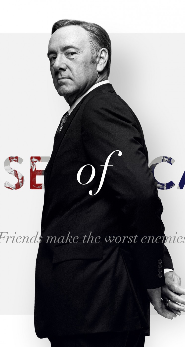 Frank Underwood - House of Cards Wallpaper for Apple iPhone 5 / 5s