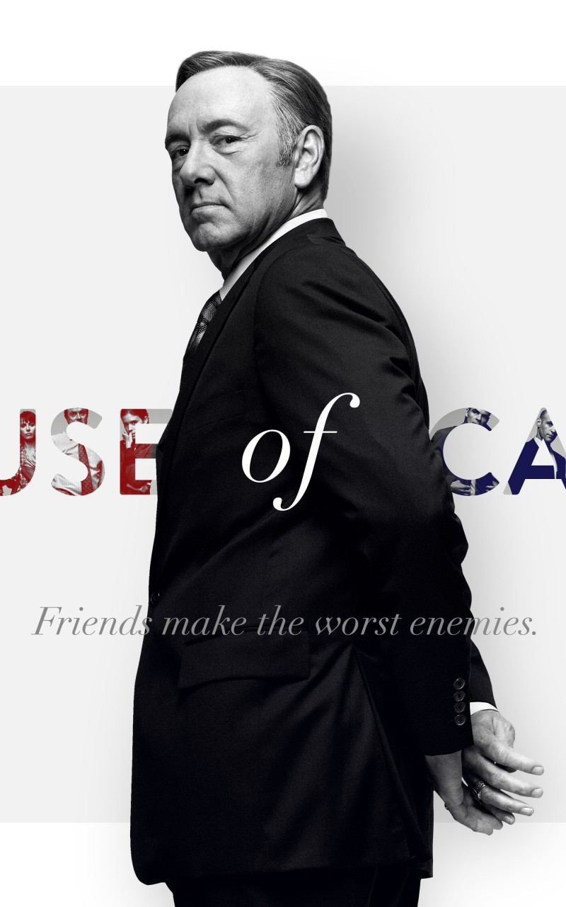 Download Frank Underwood - House of Cards HD wallpaper for