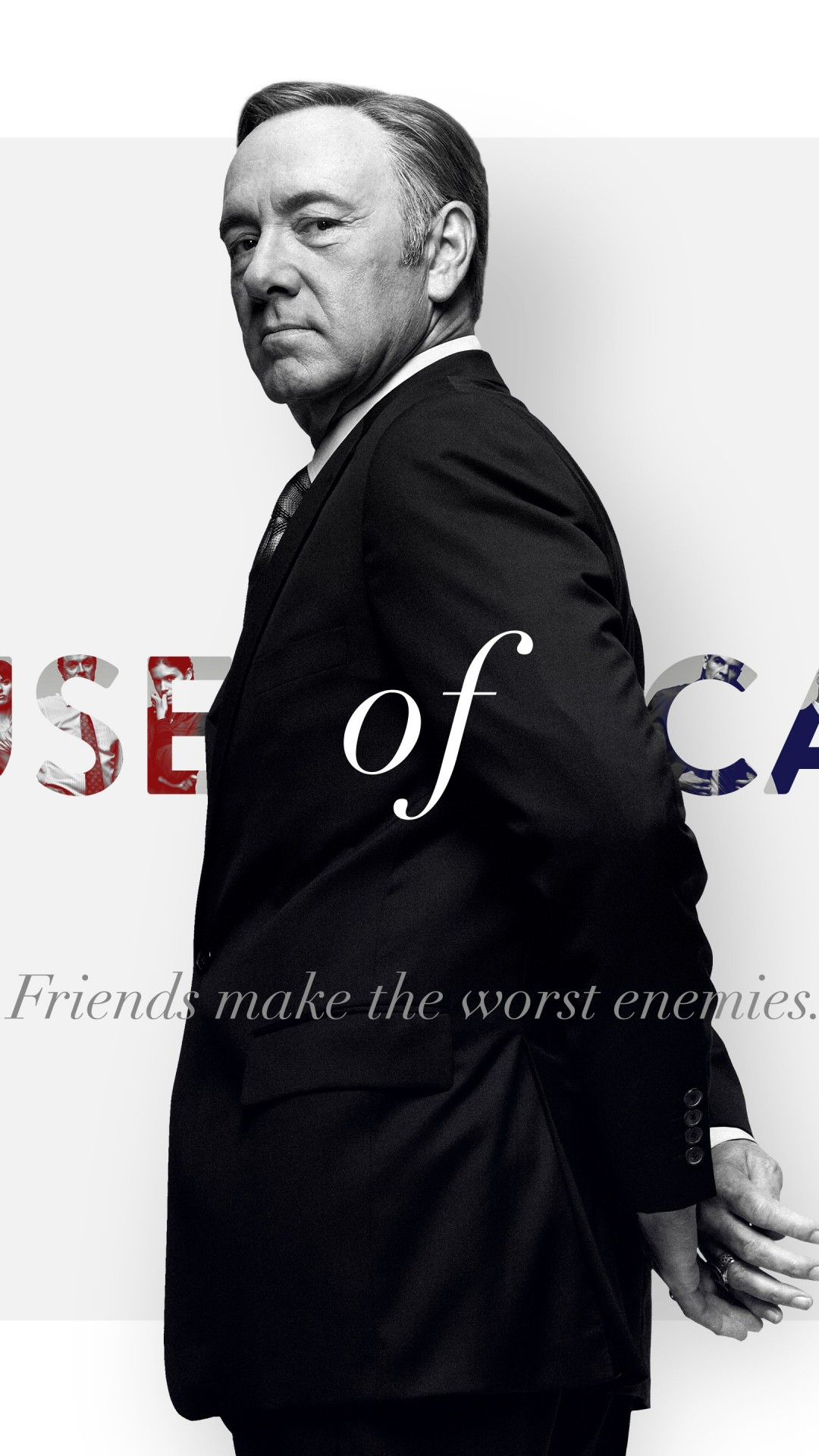 Frank Underwood - House of Cards Wallpaper for Motorola Moto X