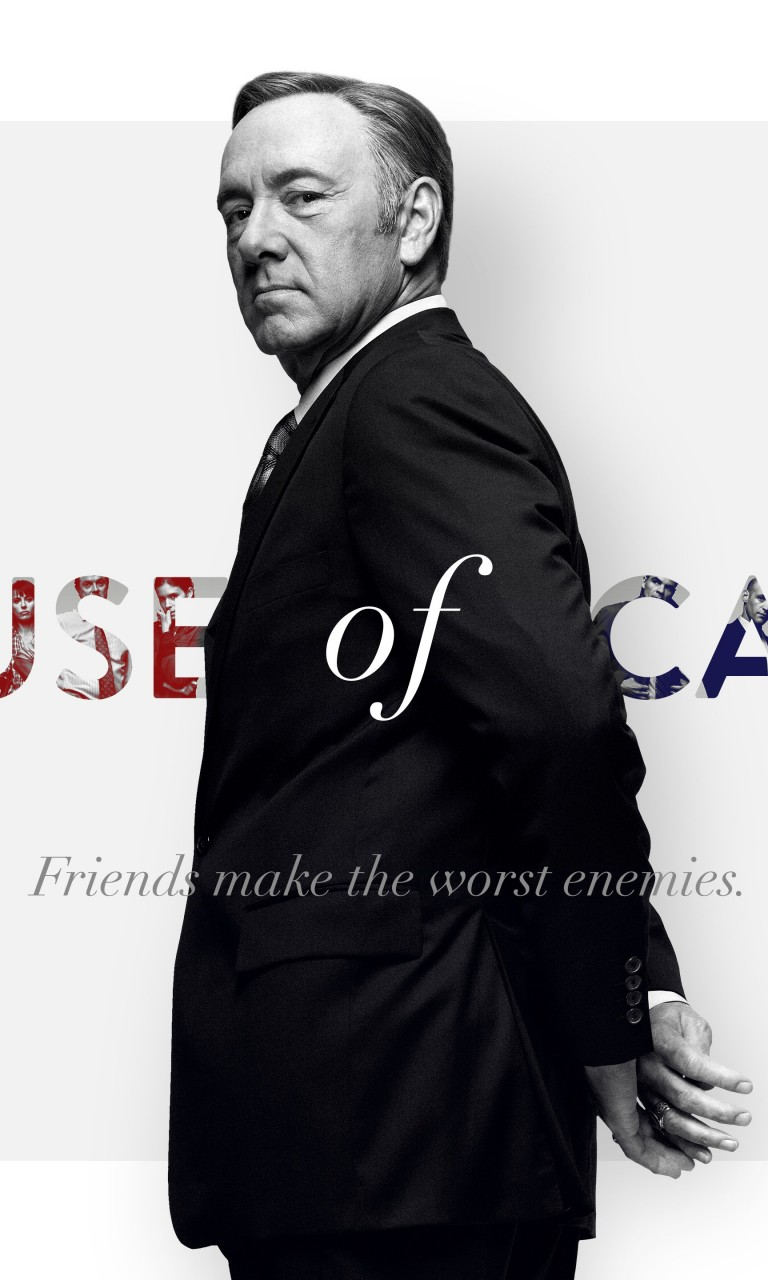 Frank Underwood - House of Cards Wallpaper for Google Nexus 4
