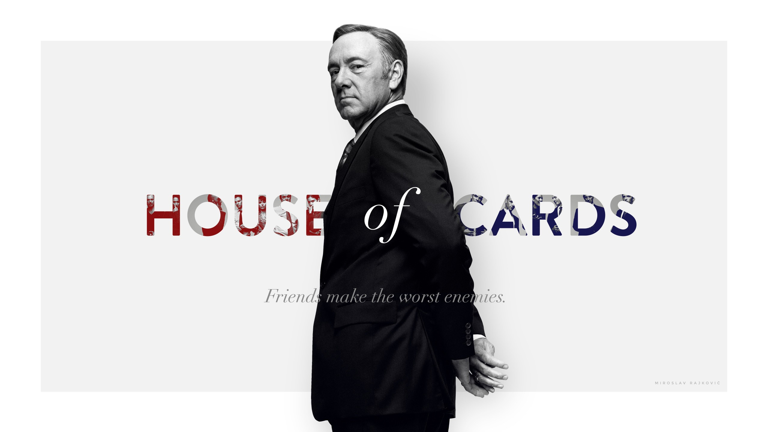 Frank Underwood - House of Cards Wallpaper for Social Media YouTube Channel Art