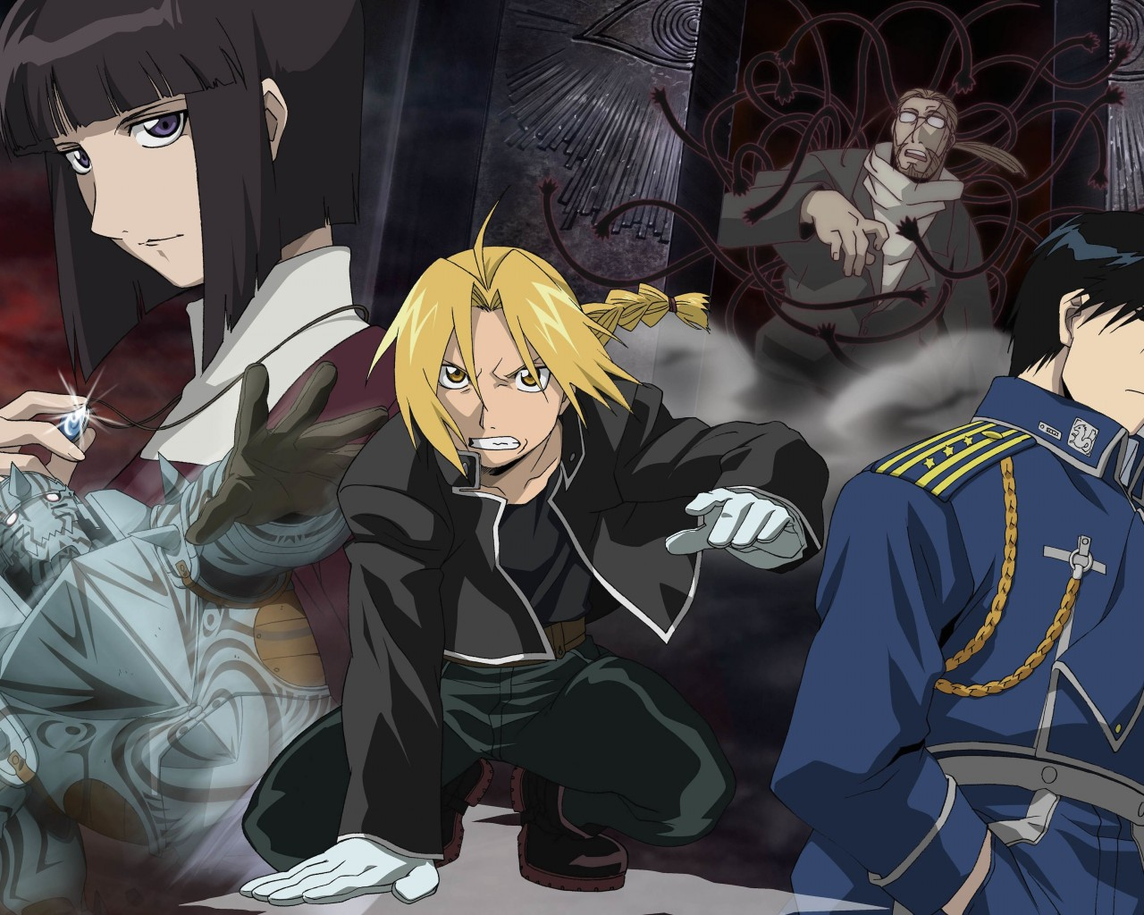 Fullmetal Alchemist Wallpaper for Desktop 1280x1024