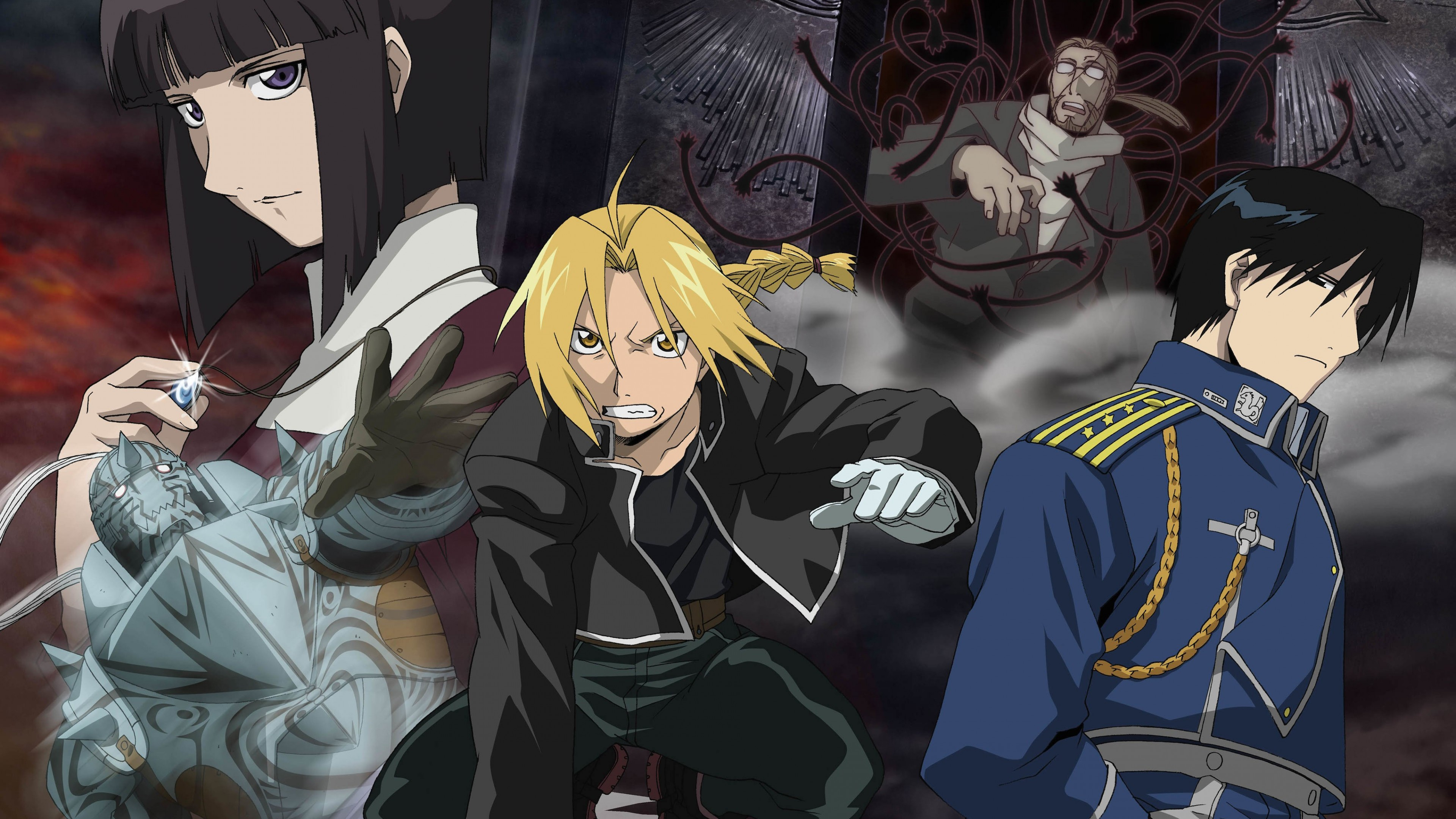 Fullmetal Alchemist Wallpaper for Desktop 4K 3840x2160